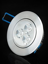 3W LED Ceiling Lights / LED Panel Lights Recessed Retrofit 3 SMD 2835 200-250 lm Cool White AC 220-240 V
