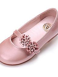 Ballerines ( Rose/Blanc/Or ) - Similicuir - Confort/Bout fermé