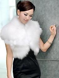 Faux Fur Shawl & Wrap