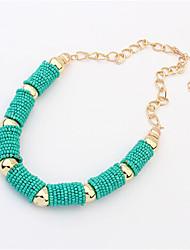 Masoo Women's Fashional Cylinder Necklace