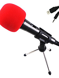 mejorado micrófono de condensador de reverberación versión para pc y laptops