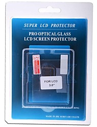 "professionelle LCD Screen Protector 3.0 ""optisches Glas für DSLR-Kamera"