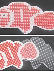 1pcs modèle perles Perler clairement panneau perforé motif de nemo clowns pour perles hama 5mm perles fusibles