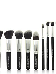 Professional 10PCS Makeup Cosmetic Brushes Set Pro Beauty Tool