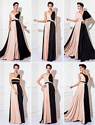 Formal Evening/Prom/Military Ball Dress Plus Sizes Sheath/Column Floor-length Knit