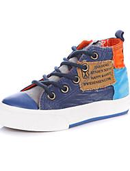 Sneakers de diseño ( Azul/Rojo/Azul marino ) - Comfort/Punta cerrada - Lienzo