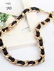 Masoo Women's Fashional Fur Rope Necklace