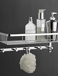 YALI.M®,Bathroom Shelf Chrome 36*15.5*17.5cm Brass Contemporary