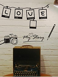 Wall Stickers Wall Decals, Photo Frame PVC Wall Stickers