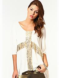 Women's Tops & Blouses , Cotton Casual MEISHA
