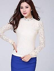 mode elegante slanke kant t-shirt van vrouwen