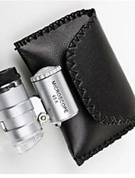 6 * 5 * 3 cm 45 est réglable microscope led