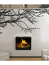 ZOOYOO®fashion removable vinyl materail and black color tree branch wall sticker home decor Decal Art Mural Home Decor