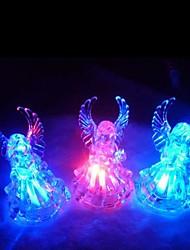 changement de couleur conduit ange transparent mini-lumière en forme accessoires d'Halloween