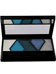 5 Lidschattenpalette Schimmer Lidschatten-Palette Puder Normal Alltag Make-up