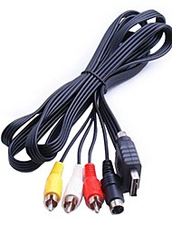 svhs s-video compuesto av rca de vídeo hd tv cable para sony ps1 consola ps3 ps2