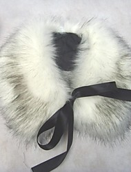 Women Faux Fur Shawl & Wrap