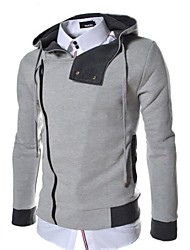 Men's Personality Long Sleeve Hooded Sweater