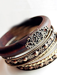 Maetel European Multi-Layer Rivet Vintage Bracelets