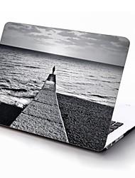 o fim do mundo design de corpo inteiro caixa de plástico de proteção para 11 polegadas / 13 polegadas ar novo macbook