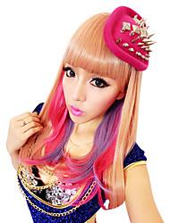 estilo harajuku chica kawaii 50cm largos de halloween fiesta de la peluca de las mujeres