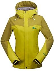 Women's Thermal Fleece Hiking Jacket Yellow