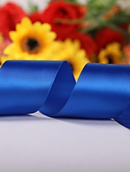 Solid Color 2 Inch Satin Ribbon- 50 Yards Per Roll (More Colors)