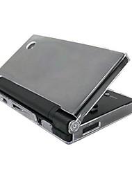 caso de cristal duro shell capa de pele clara para Nintendo DSi NDSi