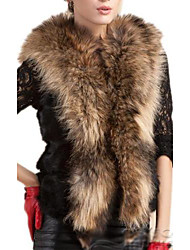 Women's Elegant Faux Fur Sleevless Short Waistcoat