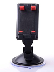 Universal Multifunctional Rotatable Car Suction Cup Mount Holder for Cellphone / GPS / MP4 - Black