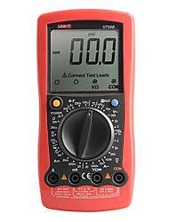 UNI-T UT58B LCD multimetro digitale AC DC Tensione Temp Corrente Ohm Meter