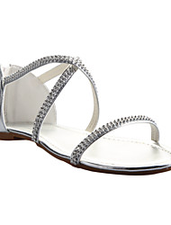 Women's Wedding Shoes Open Toe Sandals Wedding/Dress/Party & Evening Silver/Gold