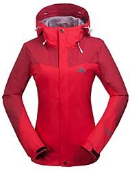 Women's Thermal Fleece Hiking Jacket Red