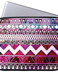 "Elonbo Bohemian Vintage Stripe 13"" Laptop Neoprene Protective Sleeve Case for Macbook Pro/Air Dell HP Acer"