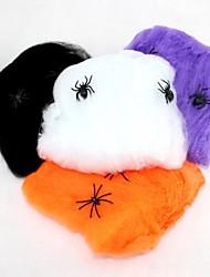 araignée coton Halloween accessoires couleur maison hantée décoration aléatoire