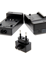 4,2 V Akku-Ladegerät + EU-Stecker + Ladegerät für Samsung p120a