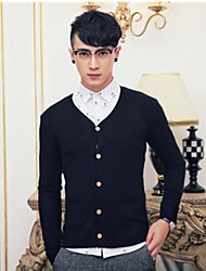 Men's Casual Fashion  Slim Cardigan
