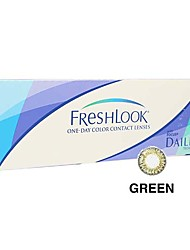 Ciba FreshLook 1 Day Green (10 lens / box)(Zero Degree)