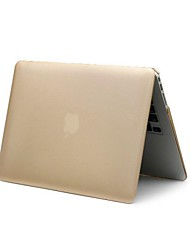 """coosbo® gouden matte rubberen harde beschermhoes voor 13 """", 15"""" macbook pro"""