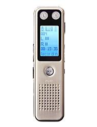 Gravador de voz digital 8gb -voice ativado gravação design de metal