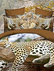 Maison 34d цветочный принт постельное четыре части с бесплатным жемчужный браслет