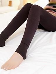 женская плюс бархат чистый красочный хлопок чулочно-носочные изделия для зимы