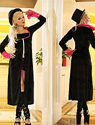 Amazing Magician Black Suit Women's Halloween Costume