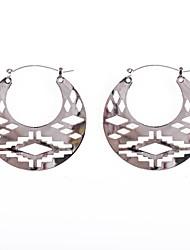 Fashion Women Cutting Pattern Earrings