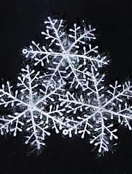 3 pièces décorations de Noël suspendus ornements flocon de neige (φ = 22cm)