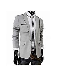 Hisên Männer Casual Spiel alle Anzug Mantel
