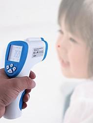lcd digital de superficie frente humano babys sin contacto termómetro de infrarrojos