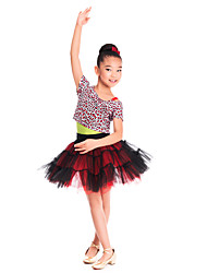 Performance/Dancewear Spandex Flower Ballet Dance Dress Kids Dance Costumes
