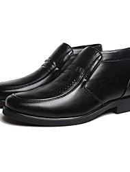 мужская обувь закрыты носок плоским пятки ботинок ботинок