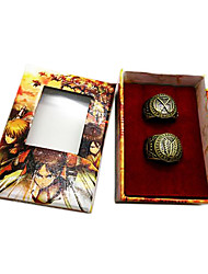Attack on Titan Recon Corps and Training Corps Alloy Cosplay Couple Rings Set